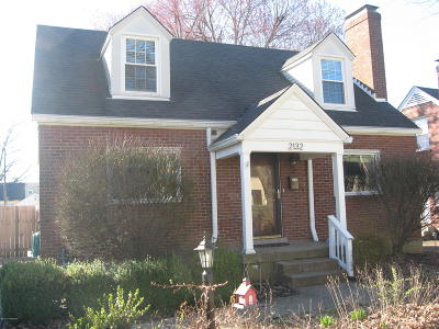 Louisville KY Single Family Home For Sale: $258,000