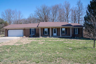 Bardstown Single Family Home For Sale: 4224 New Shepherdsville Rd