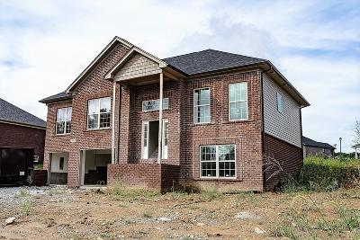 Shelbyville Single Family Home For Sale: 86 Imperator Way