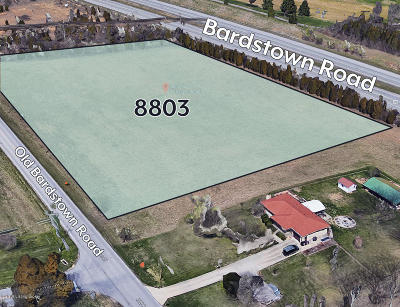 Louisville Residential Lots & Land For Sale: 8803 Old Bardstown Rd