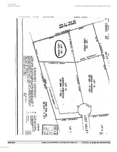 Crestwood Residential Lots & Land For Sale: Lot 14B Lost Valley Dr