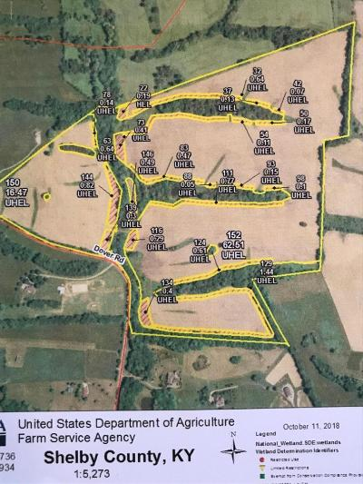 Shelbyville Residential Lots & Land For Sale: Dover Rd