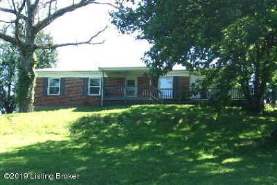 Leitchfield Single Family Home For Sale: 7791 Brandenburg Rd