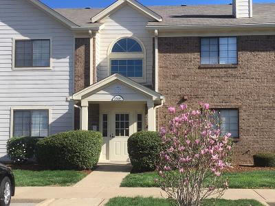 Condo/Townhouse Active Under Contract: 3505 Lennox View Ct #102