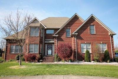 Single Family Home For Sale: 608 Lacewood Ct