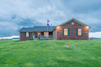 Shelbyville Single Family Home For Sale: 6819 Dover Road Rd
