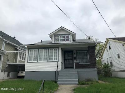 Louisville Single Family Home For Sale: 633 Cecil Ave