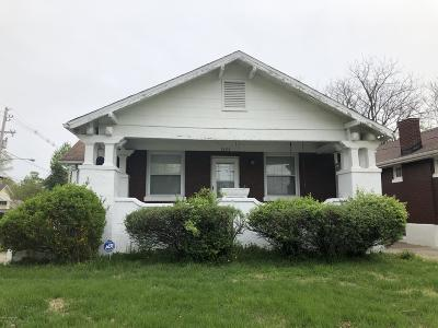 Louisville Single Family Home For Sale: 1321 S 43rd St