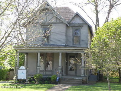 Shelbyville Single Family Home For Sale: 926 Main St