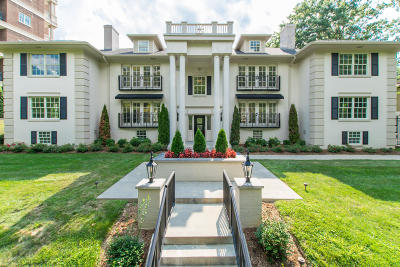 Highlands Condo/Townhouse For Sale: 1600 Cherokee Rd #1 &