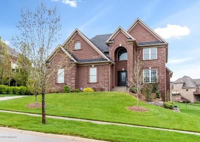 Louisville Single Family Home For Sale: 615 Locust Creek Blvd