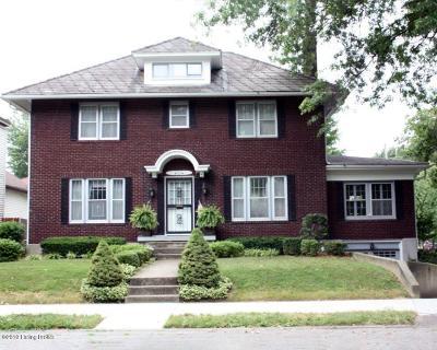 Jeffersonville Single Family Home For Sale: 702 E Maple St