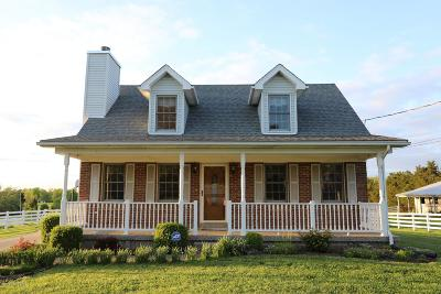 Single Family Home For Sale: 9415 Independence School Rd