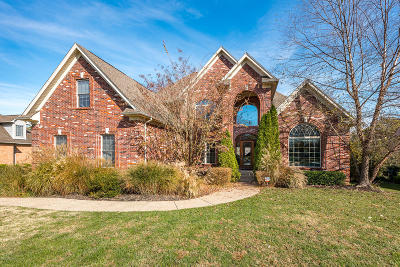 Shelby County Single Family Home For Sale: 1151 Persimmon Ridge Dr