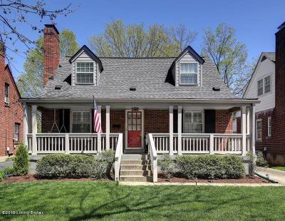 St Matthews Single Family Home For Sale: 517 Eline Ave