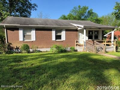 Harrodsburg Single Family Home For Sale: 528 Ashley Dr