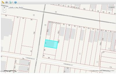 Louisville Residential Lots & Land For Sale: 209 W Dr W J Hodge St