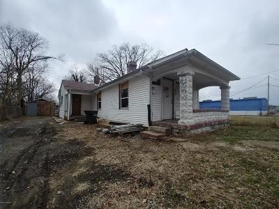 Jeffersonville Single Family Home For Sale: 1037 Watt St