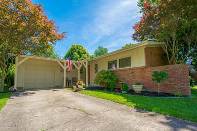 Louisville KY Single Family Home For Sale: $249,950