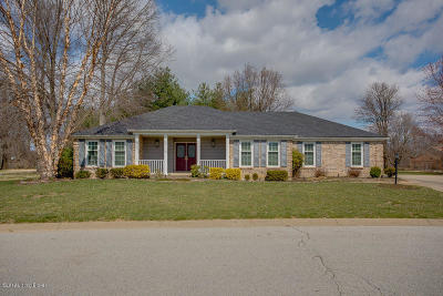 Jeffersonville Single Family Home For Sale: 606 Erin Dr