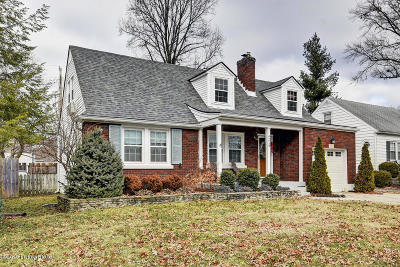 Louisville Single Family Home For Sale: 4219 Winchester Rd