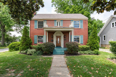 Single Family Home For Sale: 5917 Six Mile Ln