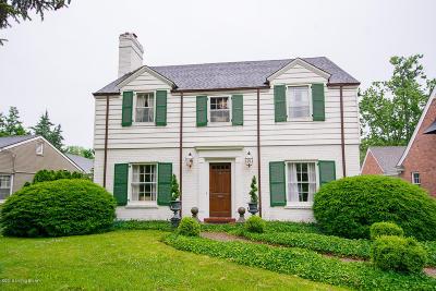 Louisville Single Family Home For Sale: 3250 Lexington Rd