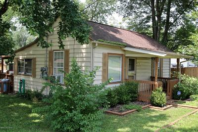 Fairdale Single Family Home Active Under Contract: 10504 W Manslick Rd