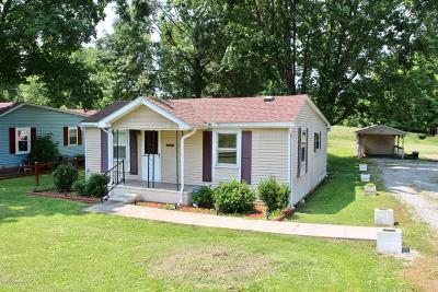 Fairdale Single Family Home Active Under Contract: 10504-06 W Manslick Rd