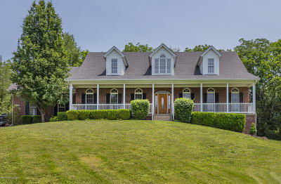 Crestwood Single Family Home For Sale: 1195 Weible Rd