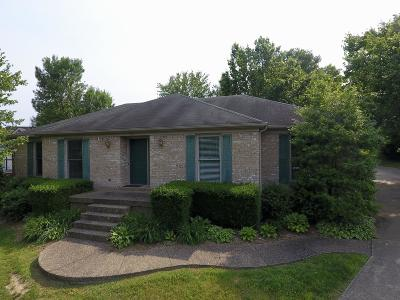 Shelbyville Single Family Home For Sale: 321 Comanche Rd