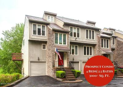 Oldham County Condo/Townhouse For Sale: 15 Harrods Landing Dr
