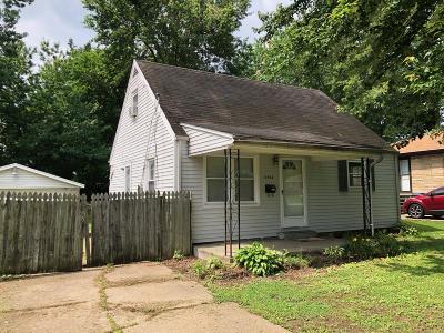 Single Family Home For Sale: 5400 Maryman Rd