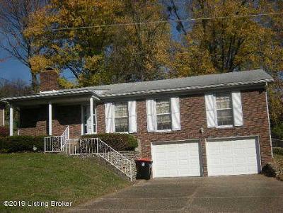 Single Family Home For Sale: 1521 Glenrock Rd