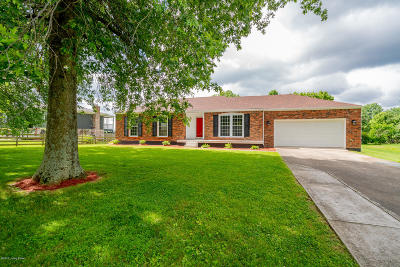 Single Family Home For Sale: 805 Dawson Hill Rd