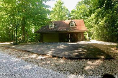 Edmonson County Single Family Home For Sale: 125 Blueberry Hill