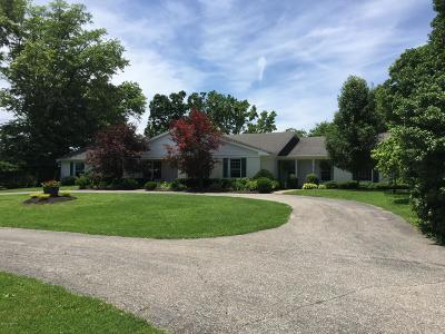 Shelbyville Farm For Sale: 2636 Mt Eden Rd