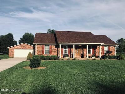 Bardstown Single Family Home For Sale: 2784 Poplar Flat Rd
