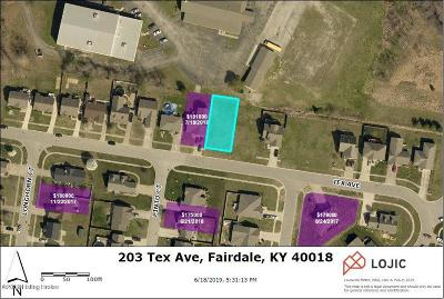 Louisville Residential Lots & Land For Sale: 203 Tex Ave