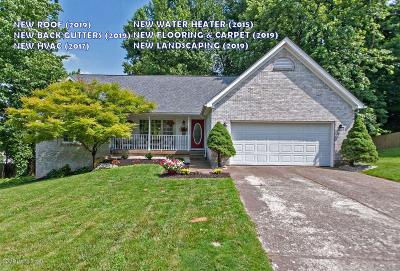 Single Family Home For Sale: 4107 Stone Gap Ct