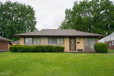 Louisville Single Family Home For Sale: 3314 Moulton Ln