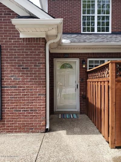 Louisville Condo/Townhouse Active Under Contract: 10503 Vining Pl #200