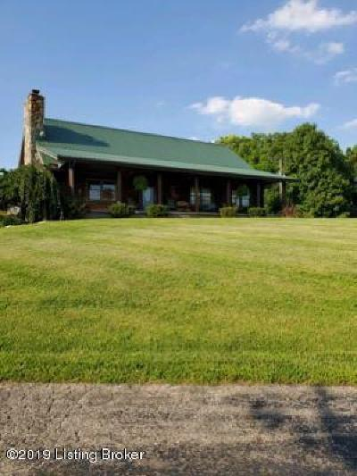 Single Family Home For Sale: 2547 Goose Creek Rd