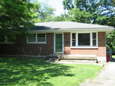 Louisville Single Family Home For Sale: 4414 Mann Ave