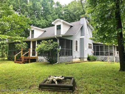 Edmonson County Single Family Home For Sale: 180 Top Of The Hill Circle