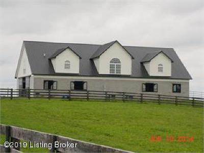 Shelbyville Single Family Home For Sale: 1037 Cross Keys Rd