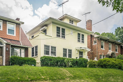 Louisville Single Family Home For Sale: 1636 Eastern Pkwy