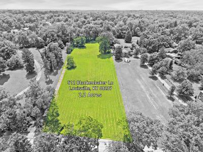 Louisville Residential Lots & Land For Sale: 512 Blankenbaker Ln