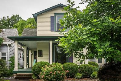 Crescent Hill Single Family Home For Sale: 211 S Hite Ave