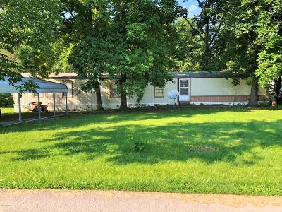 Owen County Single Family Home For Sale: 125 Eagle Creek Circle Rd